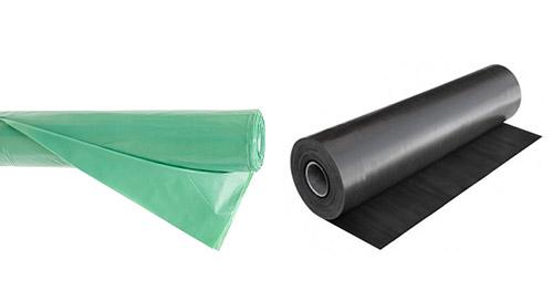folie constructii verde neagra